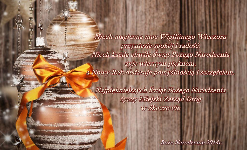 Wesołych Świąt 2014