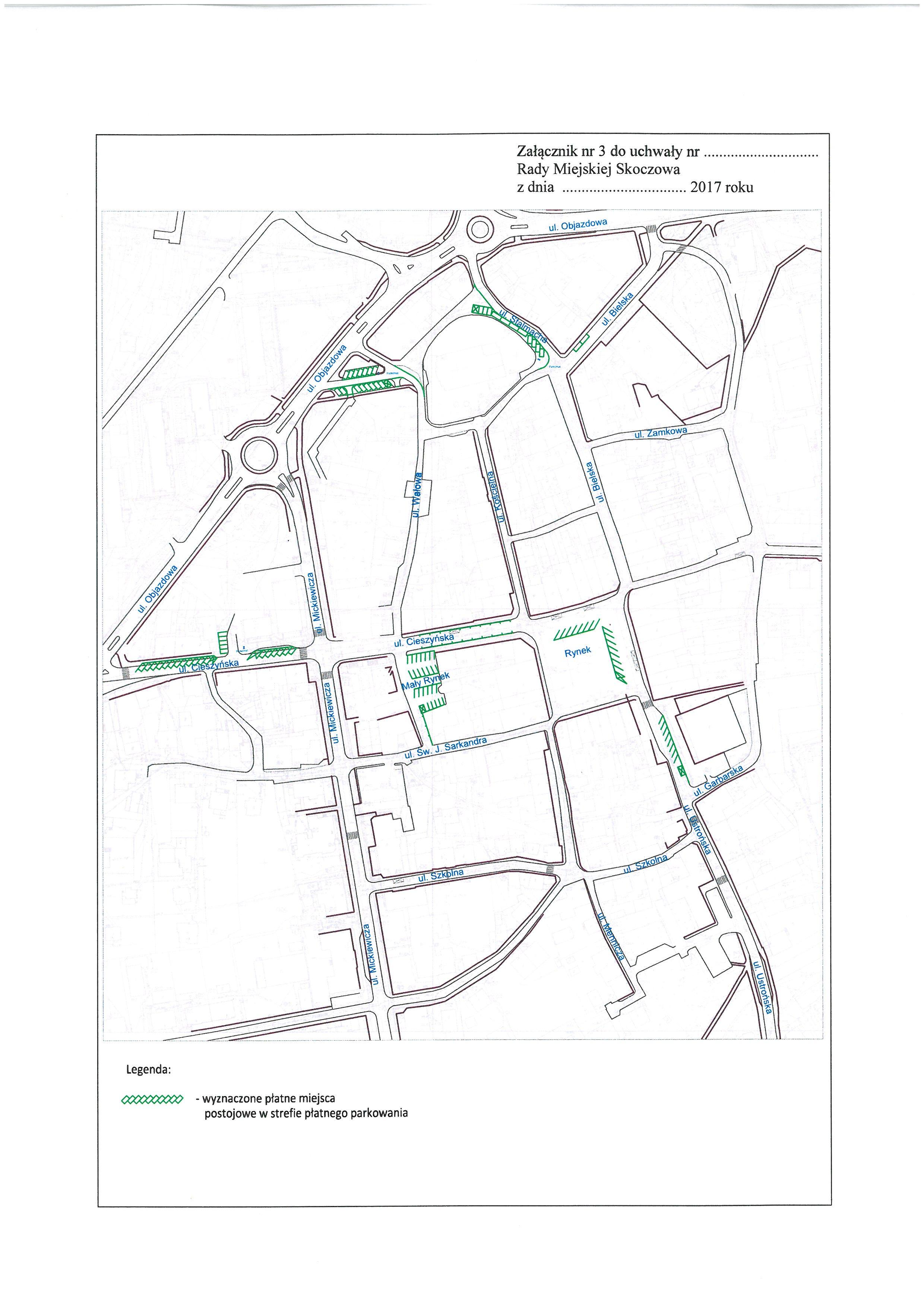 Mapa strefy