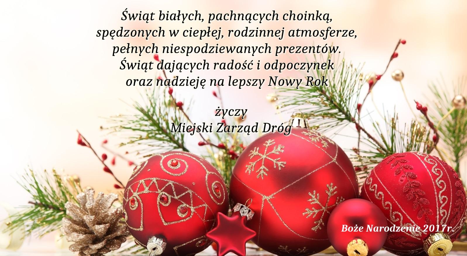 Najlepsze świąteczne życzenia!