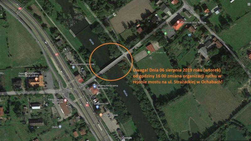 Zmiana organizacji ruchu w rejonie mostu w Ochabach!
