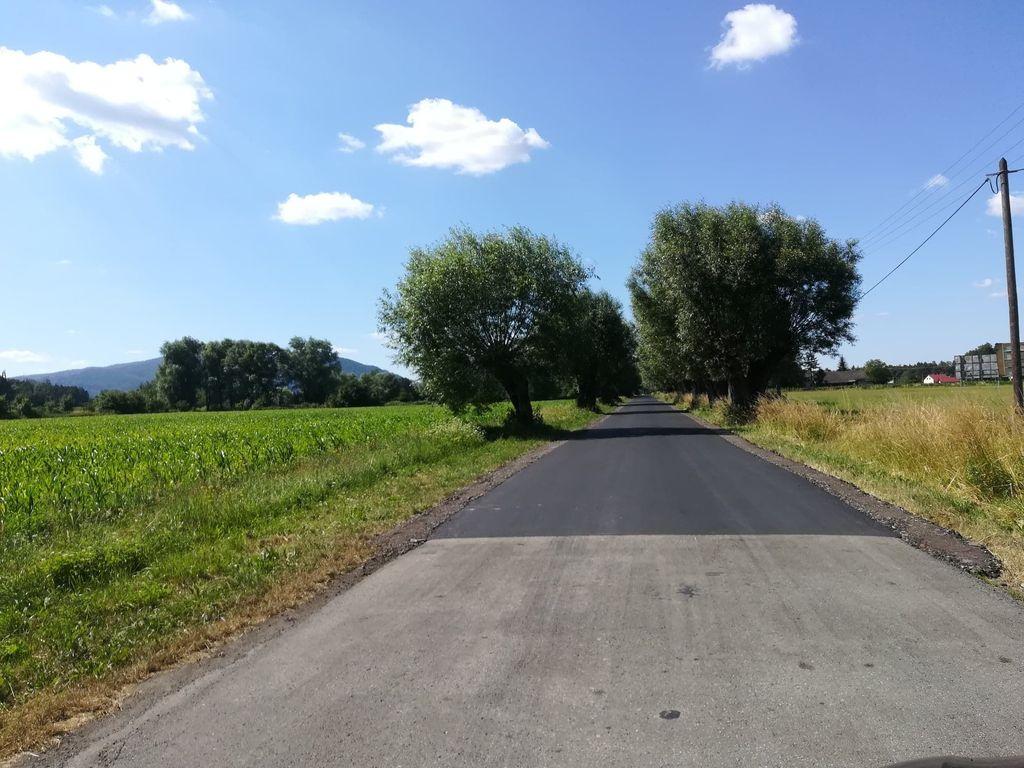 Remont ulicy Wierzbowej w Pogórzu zakończony!