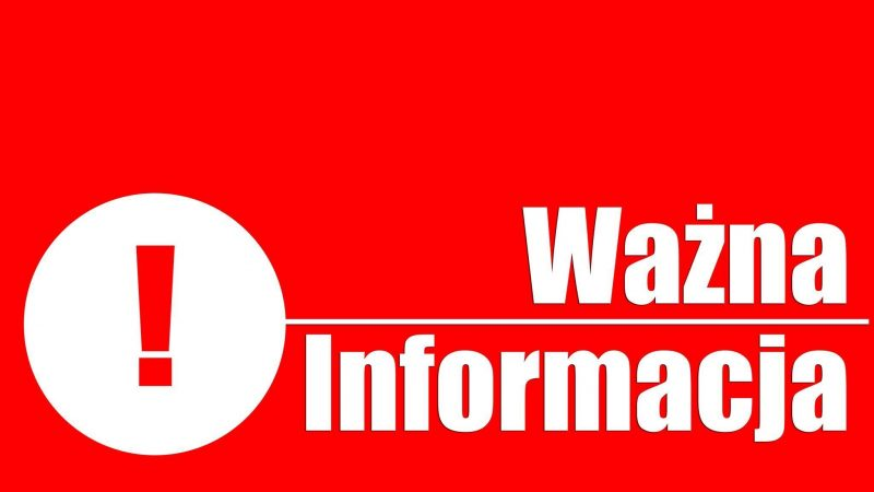 Aktualizacja: UWAGA! Dotyczy handlu na targowiskach miejskich w Skoczowie.