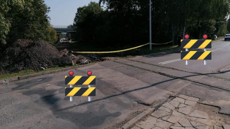 Uwaga!!! Zamknięcie przejazdu kolejowego w ciągu ul. Ks. J. E. Mocko w Skoczowie.
